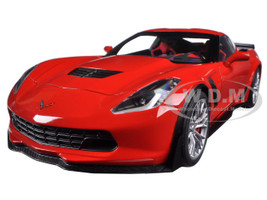 Chevrolet Corvette C7 Z06 Torch Red 1/18 Model Car Autoart 71262