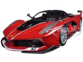 Ferrari Racing FXX-K #10 Red 1/24 Diecast Model Car Bburago 26301