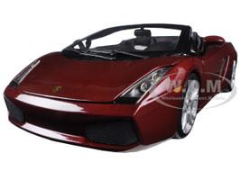 Lamborghini Gallardo Spyder Burgundy 1/18 Diecast Model Car Maisto 31136