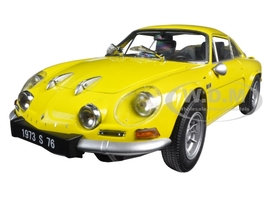 Renault Alpine A110 1600S Yellow 1/18 Diecast Model Car Kyosho 08484