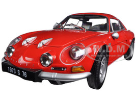 Renault Alpine A110 1600S Red 1/18 Diecast Model Car Kyosho 08484