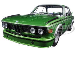 1975 BMW 3.0 CSL (E9) Coupe Green Limited Edition to 504pcs 1/18 Diecast Model Car Minichamps 180029024