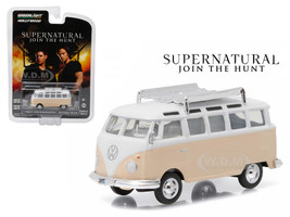 "1967 Volkswagen Samba Bus Rainbow Motors""Supernatural"" TV Series (2005-Current) 1/64 Diecast Model Greenlight 44730 C"