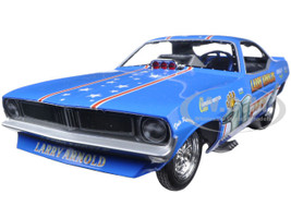 Larry Arnold's King Fish 1970 Plymouth Cuda Funny Car Limited Edition to 750pcs 1/18 Model Car Autoworld AW1173