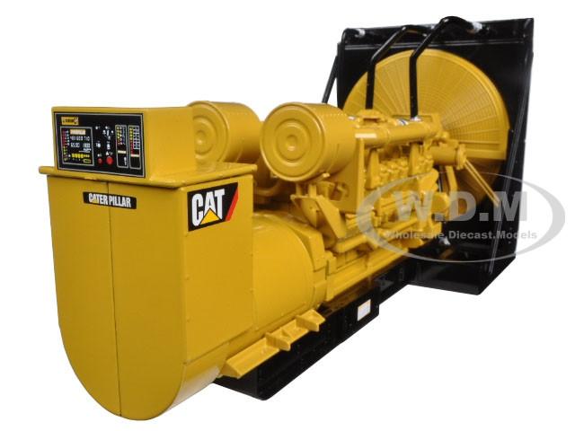 CAT Caterpillar 3516B Engine Generator 3-Piece Set Core Classic Series 1/25 Diecast Model Diecast Masters 85100 C
