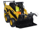 CAT Caterpillar 272C Skid Steer Loader With Working Tools and Operator Core Classic Series 1/32 Diecast Model Diecast Masters 85167 C