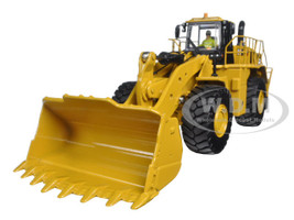 CAT Caterpillar 988K Wheel Loader with Operator High Line Series 1/50 Diecast Model Diecast Masters 85901