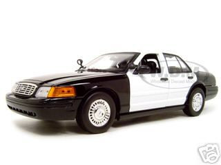 Ford Crown Victoria Unmarked Police Car 1/18 Diecast Model Car Motormax 73516