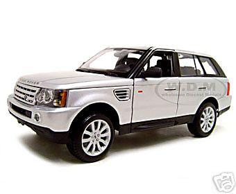 Range Rover Sport Silver 1/18 Diecast Model Car Maisto 31135