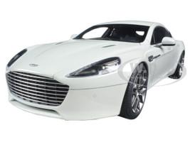 2015 Aston Martin Rapide S Stratus White 1/18 Diecast Model Car Autoart 70256