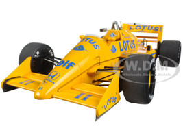 Lotus 99T Honda F1 Japanese GP 1987 S. Nakajima #11 1/18 Model Car Autoart 88726