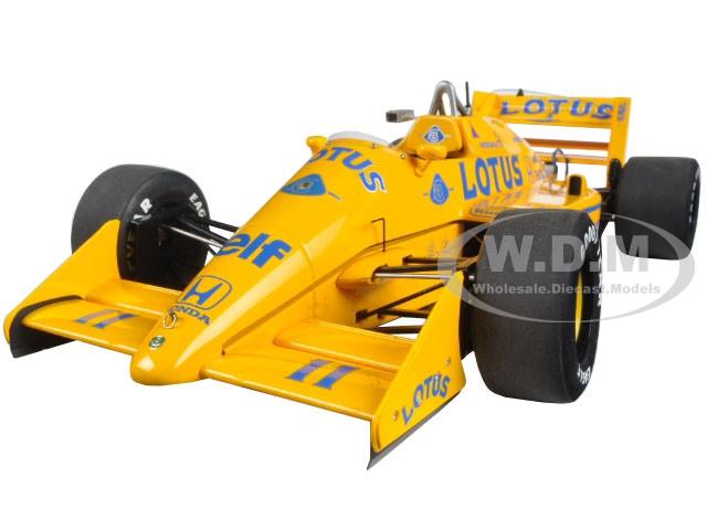 Lotus 99T Honda F1 Japanese GP 1987 S. Nakajima #11 1/18 Model Car Autoart 88726