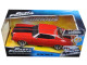 """Dom's Chevrolet Chevelle SS Red """"Fast & Furious"""" Movie 1/24 Diecast Model Car Jada 97193"""