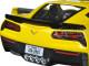2015 Chevrolet Corvette Stingray C7 Z06 Yellow 1/24 Diecast Model Car by Maisto.