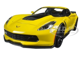 2015 Chevrolet Corvette Stingray C7 Z06 Yellow 1/24 Diecast Model Car by Maisto.