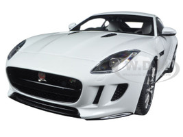 2015 Jaguar F-Type R Coupe Polaris White 1/18 Model Car Autoart 73651