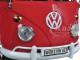 Volkswagen Type 2 (T1) Double Cab Pickup Truck Wax Red 1/24 Diecast Model Car Motormax 79343
