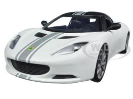 Lotus Evora S Matt White 1/24 Diecast Model Car Motormax 79505