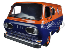 1960's Ford Allis-Chalmers Van with Boxes 1/25 Diecast Model Car First Gear 40-0385