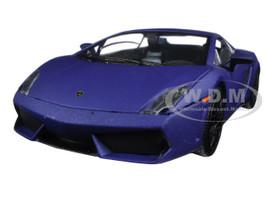 Lamborghini Gallardo LP 560-4 Matt Purple 1/24 Diecast Model Car Motormax 79504
