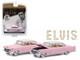 1955 Cadillac Fleetwood Series 60 Special Elvis Presley Pink Cadillac 1935 1977 1/64 Diecast Model Car Greenlight 44740 C