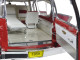 1959 Cadillac Ambulance Red and White Precision Collection 1/18 Diecast Model Car Greenlight 18001