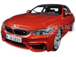BMW M4 Coupe Orange 1/18 Diecast Model Car Paragon 97101