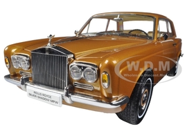 1968 Rolls Royce Silver Shadow Bronze 1/18 Diecast Model Car Paragon 98205