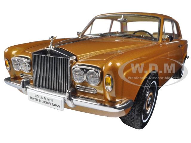 1968 Rolls Royce Silver Shadow Bronze 1/18 Diecast Model Car Paragon 98205