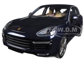 2014 Porsche Cayenne Turbo S Blue Metallic Limited Edition to 504pcs 1/18 Diecast Model Car Minichamps 110064001