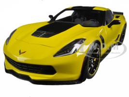 2016 Chevrolet Corvette C7 Z06 C7R Edition Racing Yellow 1/18 Model Car Autoart 71260