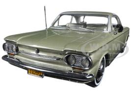 1963 Chevrolet Corvair Coupe Autumn Gold 1/18 Diecast Model Car Sunstar 1485