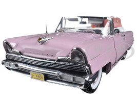 1956 Lincoln Premiere Open Convertible Amethyst Platinum Edition 1/18 Diecast Model Car Sunstar 4656