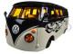 Volkswagen Van Samba Harley Davidson Black and Beige 1/25 Diecast Model Car Maisto 32192
