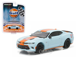 2016 Chevrolet Camaro Gulf Oil 1/64 Diecast Model Car Greenlight 51059