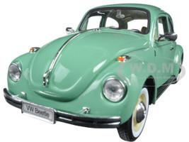 Volkswagen Old Beetle Hard Top Light Green 1/24 Diecast Model Car Welly 22436