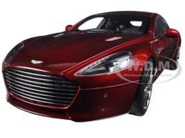 2015 Aston Martin Rapide S Diavolo Red 1/18 Diecast Model Car Autoart 70257