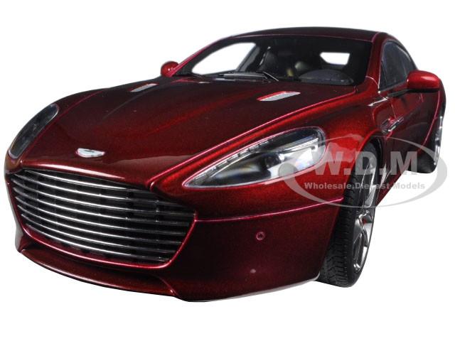 2015 Aston Martin Rapide S Diavolo Red 1/18 Diecast Model Car Autoart 70257