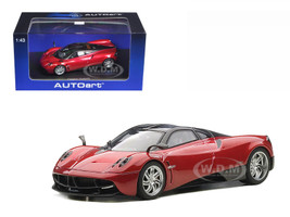 Pagani Huayra Metallic Red 1/43 Diecast Model Car Autoart 58208