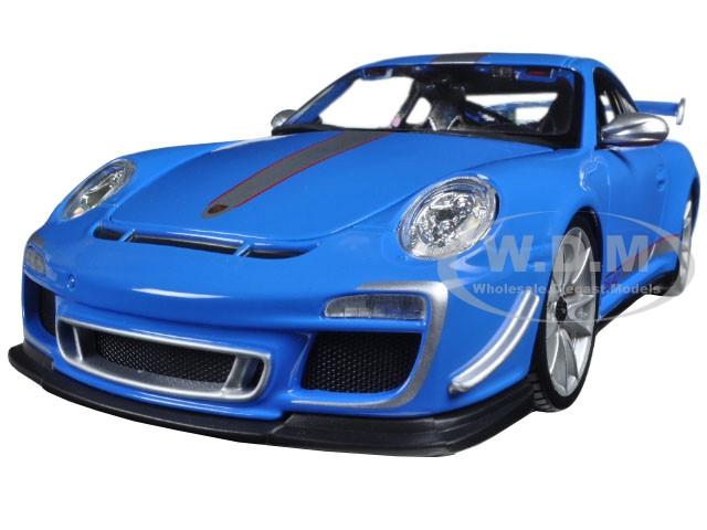 Porsche 911 Gt3 Rs 4 0 Blue 1 18 Diecast Car Model Bburago 11036