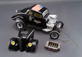 Pork Chop's 1933 Willys Gasser Jailbreak Limited Edition to 960pcs 1/18 Diecast Car Model Acme A1800907