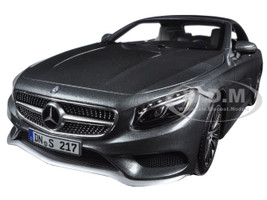 2015 Mercedes S-Class Convertible Grey Metallic 1/18 Diecast Model Car Norev 183484