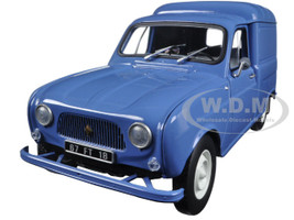 1965 Renault 4 Fourgonette Blue 1/18 Diecast Model Car Norev 185188