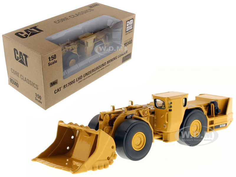 CAT Caterpillar R1700G Underground Mining Loader with Operator