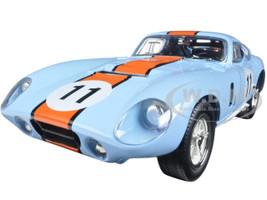 1965 Shelby Cobra Daytona #11 Blue 1/18 Diecast Car Model Road Signature 92408