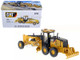 CAT Caterpillar 14M Motor Grader with Operator High Line Series 1/50 Diecast Model Diecast Masters 85189