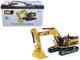 CAT Caterpillar 374D L Hydraulic Excavator Operator High Line Series 1/50 Diecast Model Diecast Masters 85274