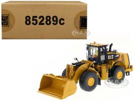 Caterpillar 980K Wheel Loader with Operator Material Handling Configuration 1/50 Model Diecast Masters 85289 C