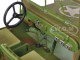 US Army WWII Jeep Vehicle Green Weathered Version 1/18 Diecast Model Car American Diorama 77404 A