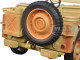 US Army WWII Vehicle Desert Color Weathered Version 1/18 Diecast Model Car American Diorama 77408 A